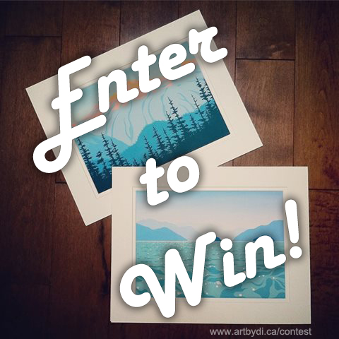 Art Giveaway - Enter To Win!