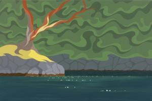 Art By Di - Sea of Green II
